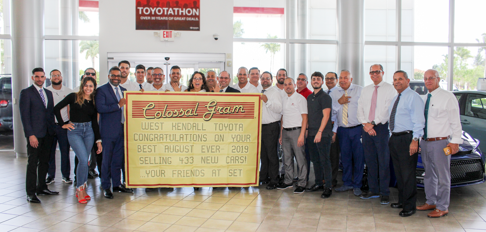 West Kendall Toyota sales team