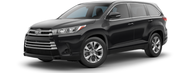 New 2019 Toyota Highlander LE 6942